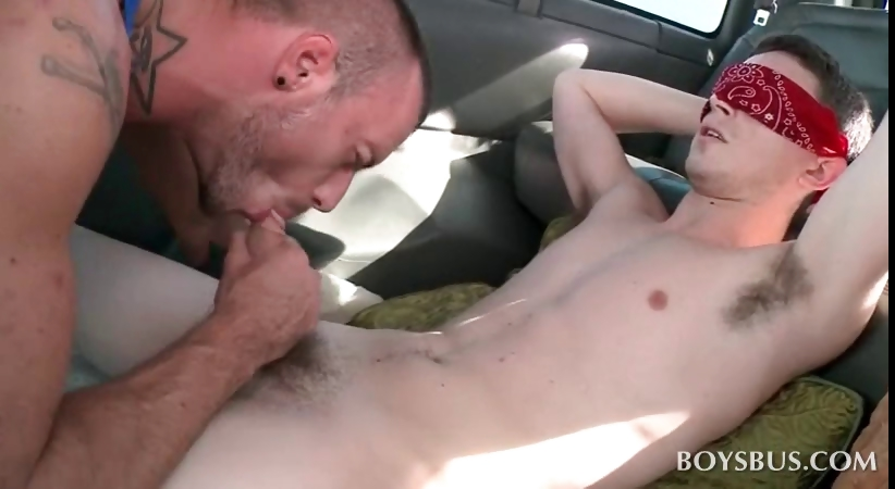 Porno Video of Gay Sex With Straight Hitchhiker