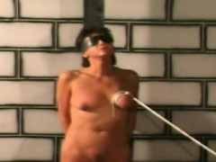 Filthy great titty slave is torture in a filthy dungeon | Porn-Update.com