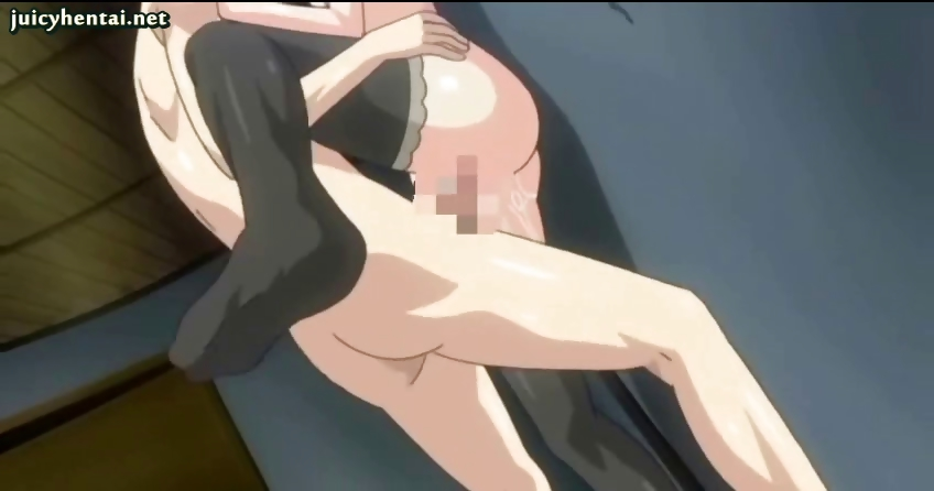 Porno Video of Hentai Teenie With Black Stockings