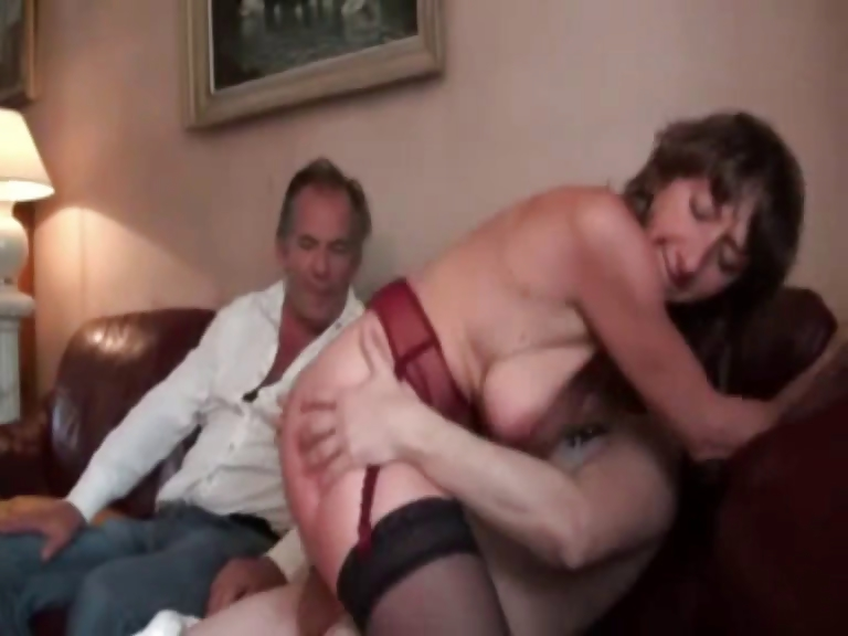 Porno Video of French Mature Double Penetrated In Stockings
