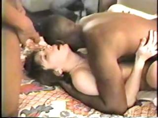 Porno Video of Yummy Housewife Gets Her Black Dick Gangbang Fantasy To Come True
