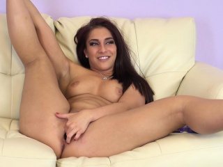 busty beauty mischa brooks drills her pussy and screams with pleasure