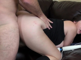 curvy beverly paige gives it to herself and feeds her hunger for cock