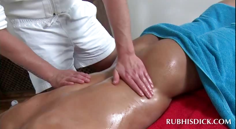 Porno Video of Oil Body Massage With Hot Gays