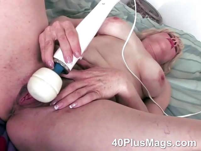 Porno Video of Nasty Blonde Divorcee Playing With Toys