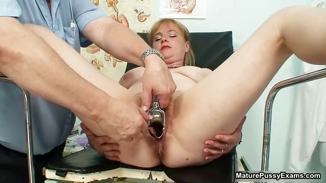 Porn Tube of Fake Doctor Fucking A Mature Female