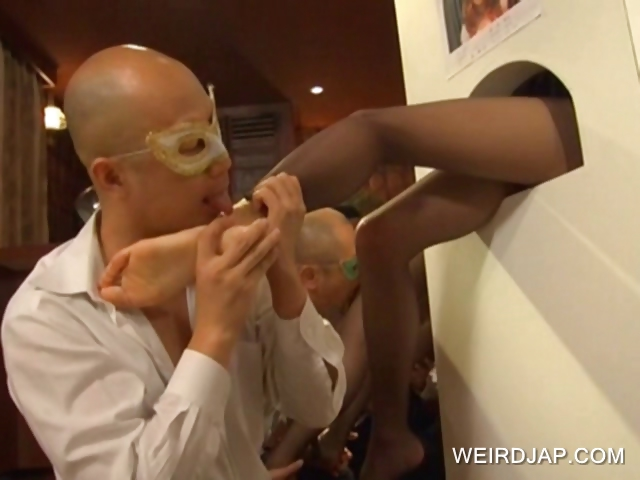 Porno Video of Japanese Getting Feet Licked On Gh