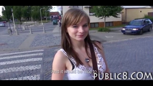 Porno Video of Big Boobs Amateur Flashing And Sex In Public