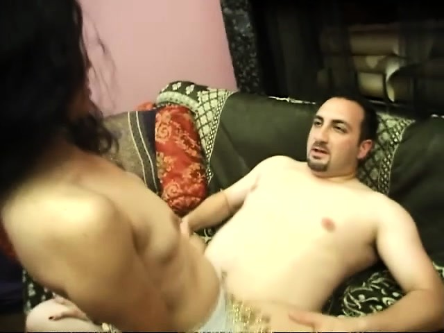 Exotic East Indian brunette gets her spicy cunt pounded by a stiff dick