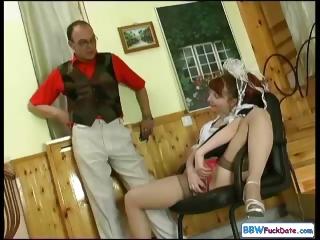 Porno Video of Chubby Redhead Housekeeping Woman
