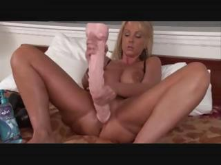 Porn Tube of Hot Mature With Huge Huge Dildos D