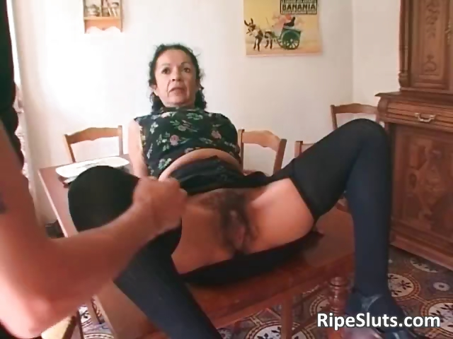 Porn Tube of Super Horny Mature Whore With Hairy