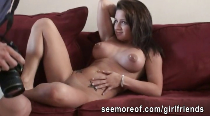 Porno Video of Big Tits Amateur Girlfriend Fucked And Mouthful Of Cum