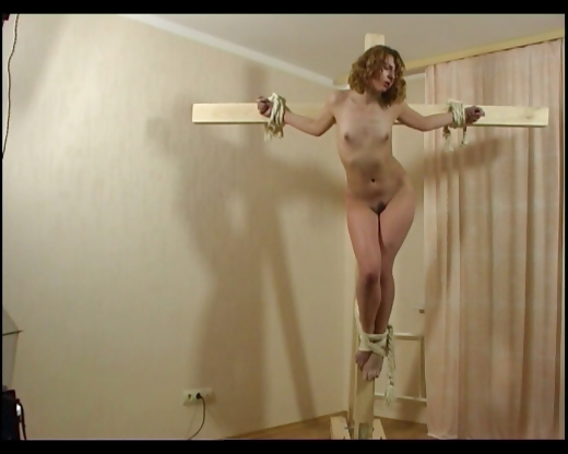 Porno Video of Red Head Crucifixion 2