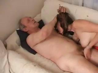 Porn Tube of Russianoldermanyounggirl