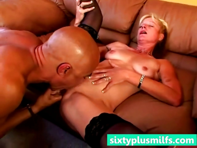 Porn Tube of Blonde Mature Housewife Rough Fucked