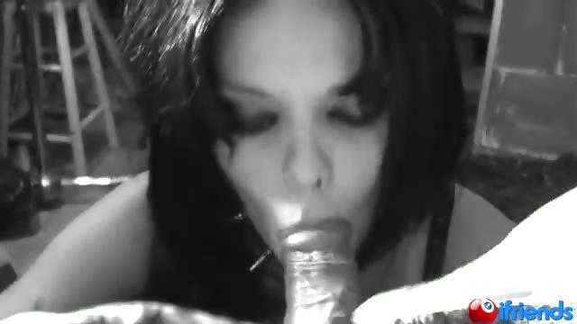 Porn Tube of Fetish Girl Sucks A Cock In Deep