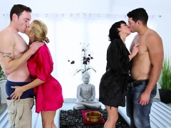 Bigtits milf veronica and alexis group massage sex | Porn-Update.com