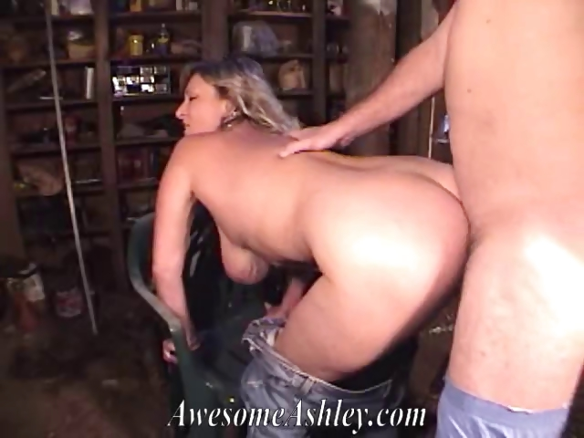 Porno Video of Big Titted Milf  Giving Bj And Getting Fucked In Garage