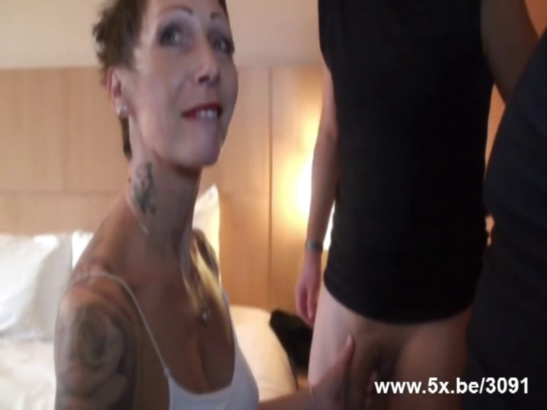 Porn Tube of Diana A French Housewife Fucked