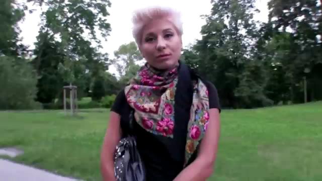 Porno Video of Lesbian Fucks In Public For Money