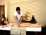 Tricked massaged teen