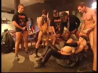 Xhamster biker girl gang bang