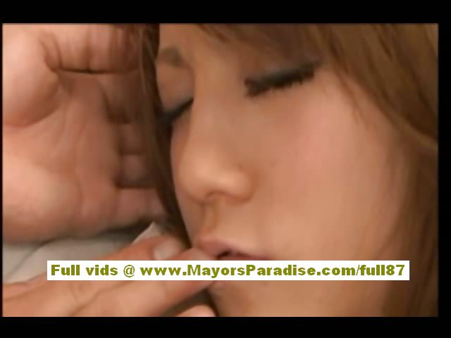 Porn Tube of Risa Tsukino Asian Babe Is Tied And Her Pussy Teased