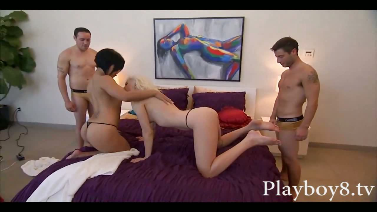 Porno Video of Four Swingers In A Hot Foursome Orgy Where They Swap Partners