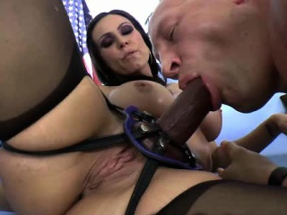 femdom strapon fuck from ass to mouth!