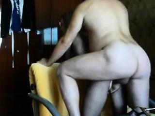 milf ass- fuck creampie on real homemade