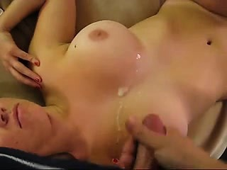 big knockers wife in cumshot that is homemade