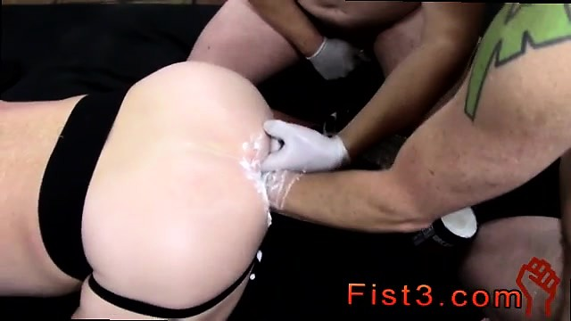 First time fisted boy and gay twinks fisting first time Fist