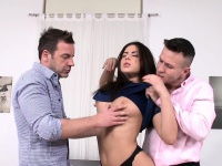 Spitroasted eurobabe assfucked and jizzed on | Anal Video Updates