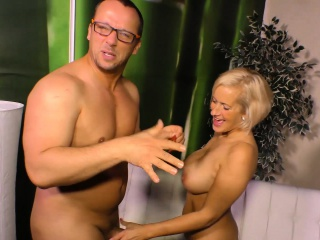 sextape germany - busty blonde makes her first pov sex tape