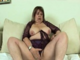 Hot granny getting fucked hard by younger stud