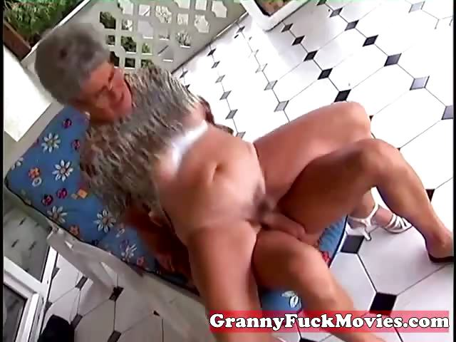 Porno Video of Young Stud Fucking Old Fat Granny