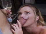 Retro porn with a horny blonde sucking and fucking