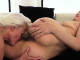 Teen and granny masturbating after oral sex