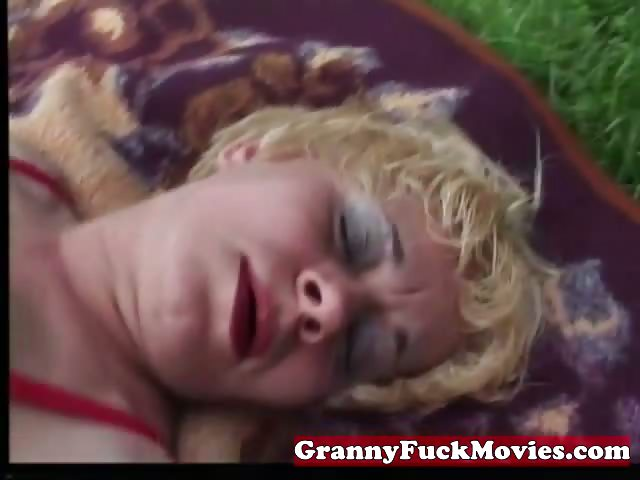 Porno Video of Check Out This Horny Brunette Granny
