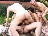 Russian matures group sex
