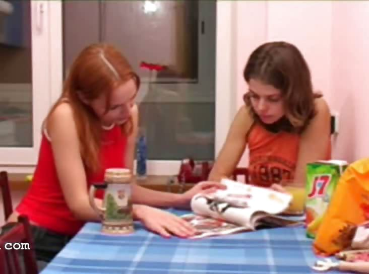 Porn Tube of Masha And Ivana Teenies Peeing On Toilet