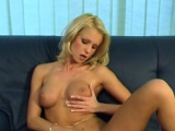 Laura drilled both her holes with her fingers