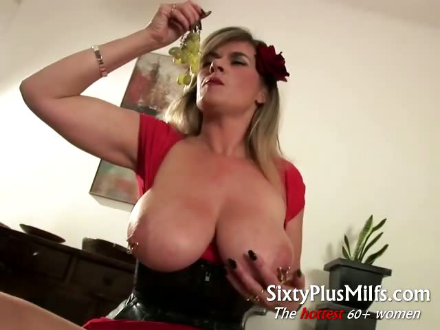 Sex Movie of Big Pierced Granny Tits