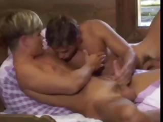 Porno Video of Buddies N Bed