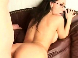 milf is enchanting fellow with her butt and soaked cunt