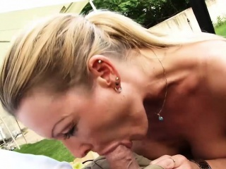 hot blonde german milf with big boobs enjoys an incredible