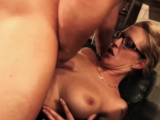 sexy blonde german with big boobs enjoys a fantastic