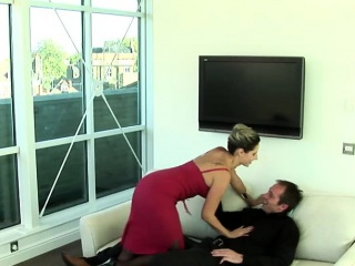 hot blonde wife with big juggs enjoys an incredible