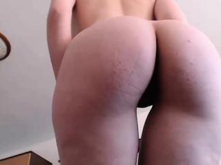 brunette chick performing her live webcam sex show